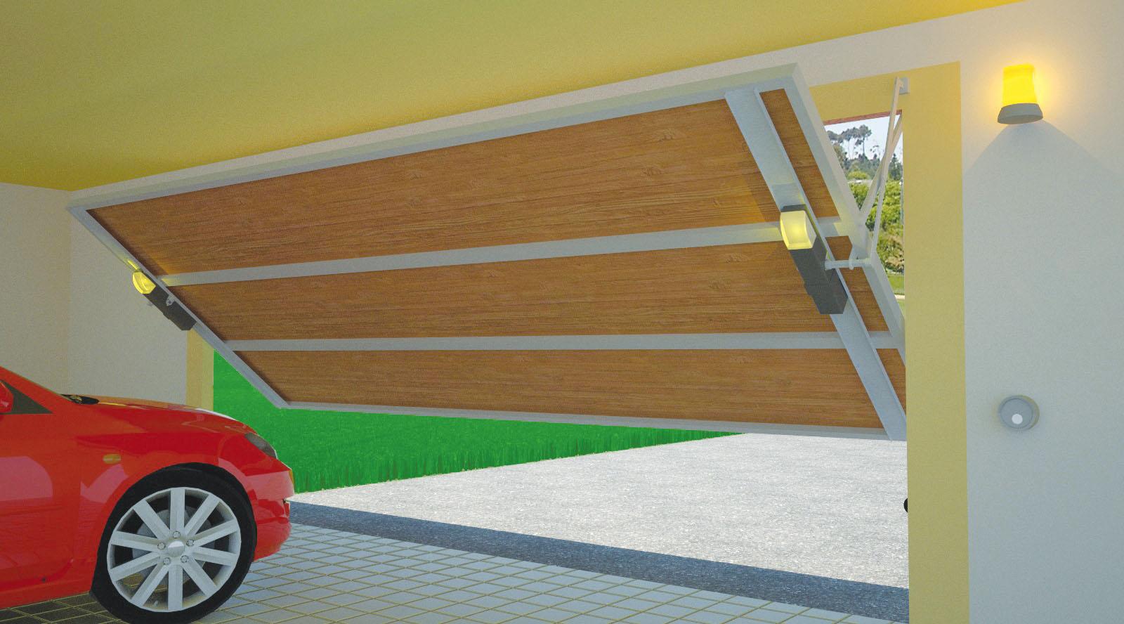 Cancelli automatici automatismi completi - Prezzo porta basculante garage ...