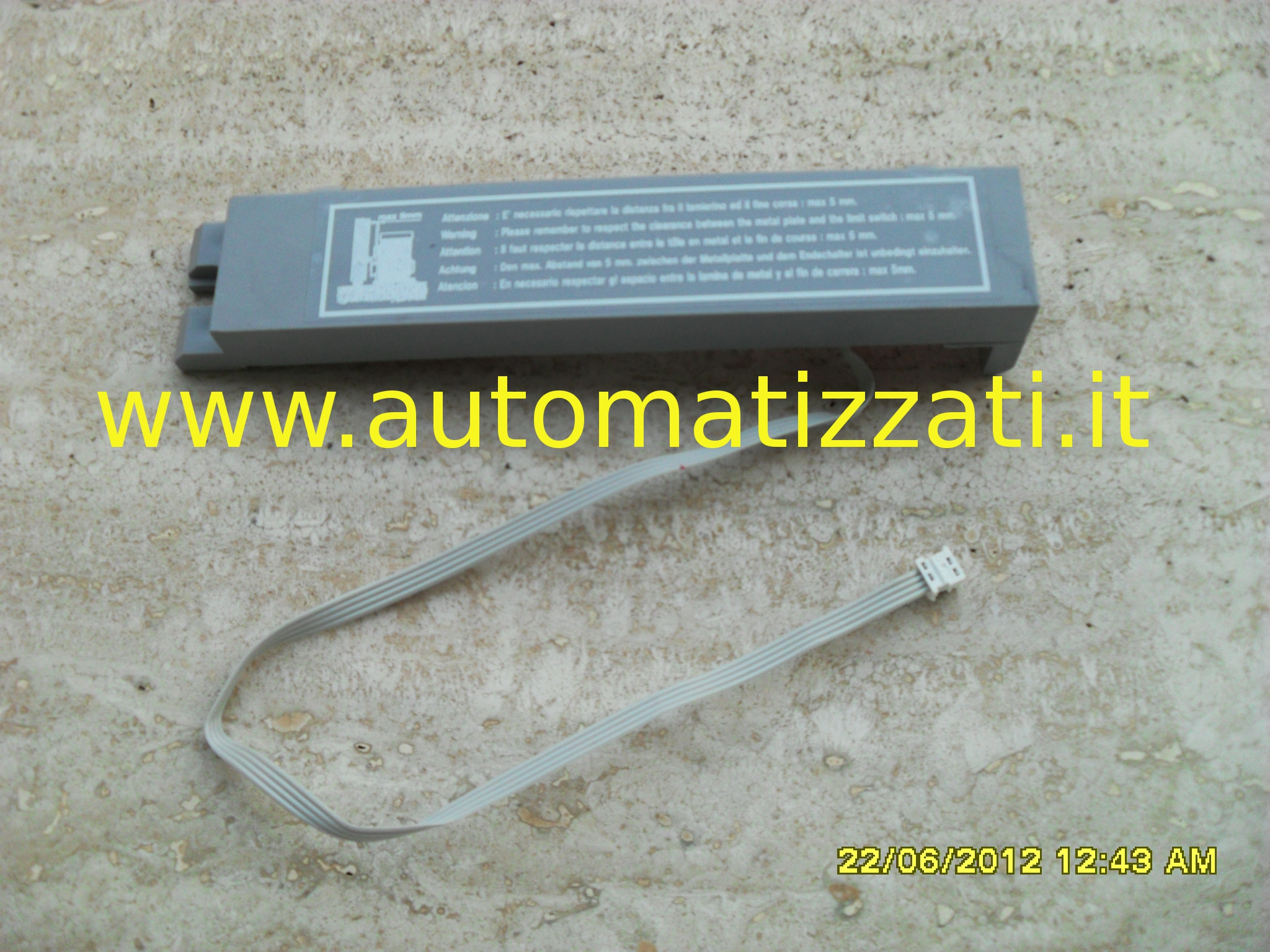 Schema Elettrico Scheda Faac 450 Mps : Finecorsa magnetico faac mps ricambi